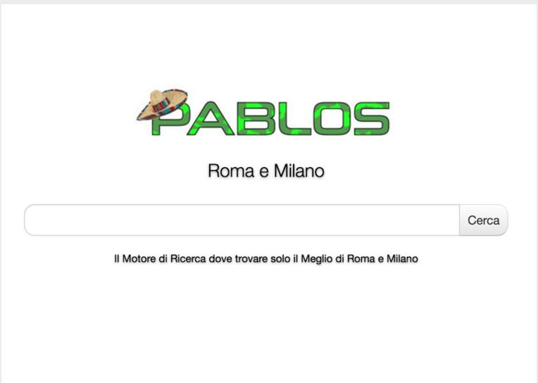 Pablos - motore di ricerca